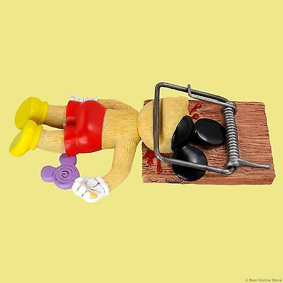 BAD TASTE BEARS WALT TECHNICOLOUR MICKEY MOUSE CAUGHT IN TRAP-MORE IN SHOP