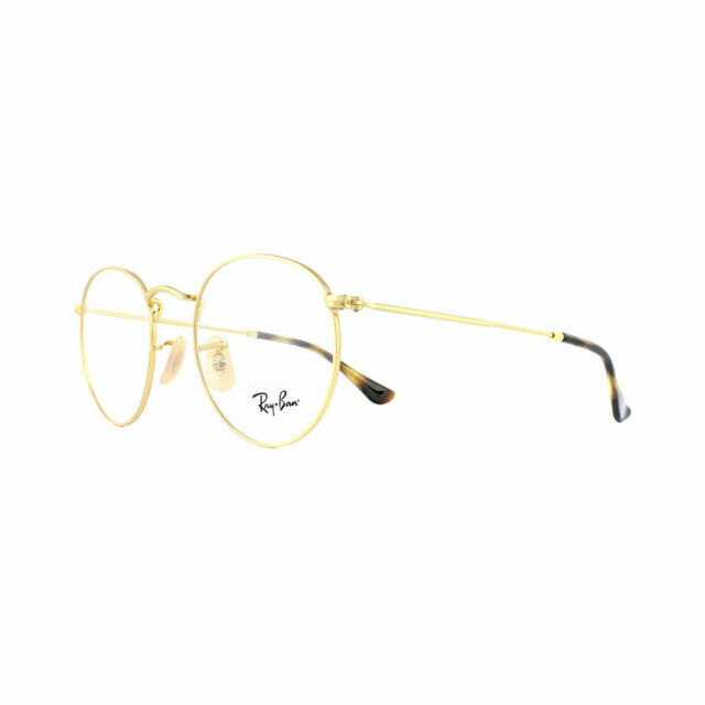 ray ban round metal rx3447v 2500