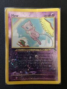 Mew Reverse Holo 1/18 Southern Islands Pokemon Card