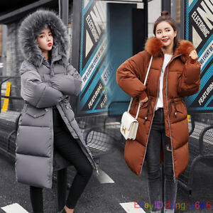 Ladies-Womens-Plus-Size-Fur-Hooded-Quilted-Padded-Winter-Coat-Puffa-Parka-Jacket