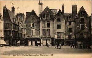 CPA-Tours-Vieilles-Maisons-place-Plumeran-611855