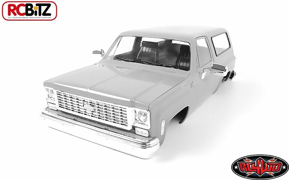 Chevrolet Blazer duro cuerpo Set Completo z-b0092 RC4WD Fit Tf2 detallada abierto Capucha