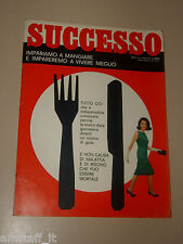 SUCCESSO=1966/2=FOU TS'ONG=RAFFAELE CARRIERI=ACHILLE MARIO DOGLIOTTI=SCHIRRA W.=