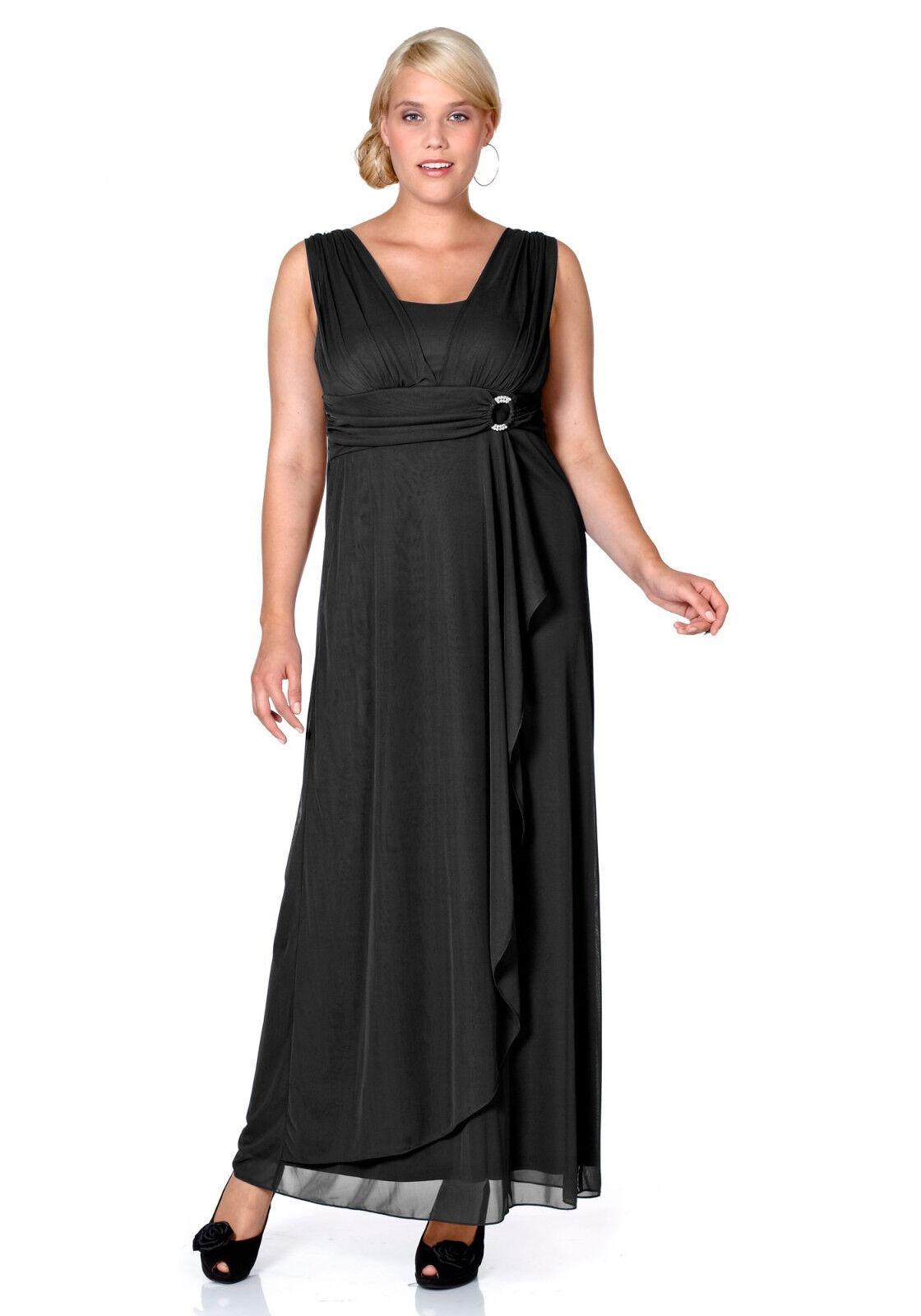 Details zu Abend-Kleid sheego Style. Schwarz. Kurz-Gr. NEU!!! KP 11,11 €  SALE%%%