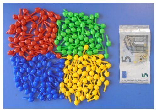 Chiodini 200 pezzi mm 10 marca Quercetti FantaColor made in Italy