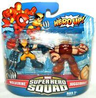 Hasbro Super Hero Squad 20 Wolverine and Juggernaut - 00653569524113 Toys
