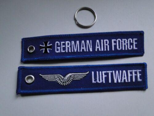 cm Schlüsselanhänger//Key-ring   Luftwaffe German Air-Force  ca 13x2,5