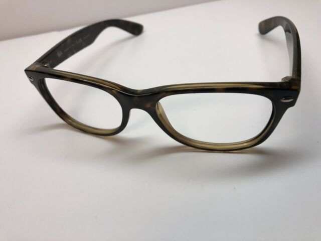 Ray Ban RB 2132 New Wayfarer 902/58 Sunglasses Polished Tortoise ...