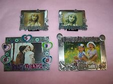 Metal Picture Frame Set Lot of 6 for Friends, Family, Happy Birthday and Collage