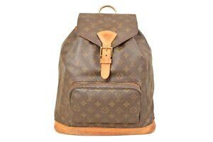 Louis-Vuitton-Monogram-Montsouris-GM-Backpack-Rucksack-M51135-YG00456