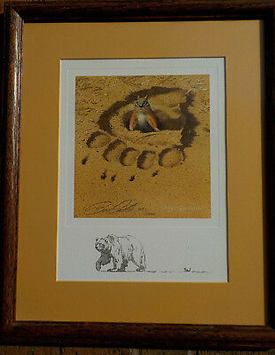 Bev Doolittle No Respect S//N Limited Edition Print With Certificate