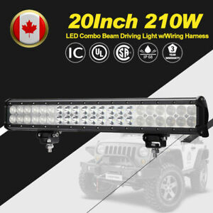 20-Inch-210W-Philips-LED-Work-Light-Bar-Spot-Flood-Combo-Beam-4WD-Driving-Lights