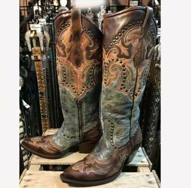 Wide Cowboy Boots For Women