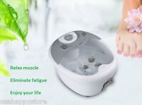 Foot Spa Bath Massager Machine Heating Therapy Vibration Infrared Bubble Massage
