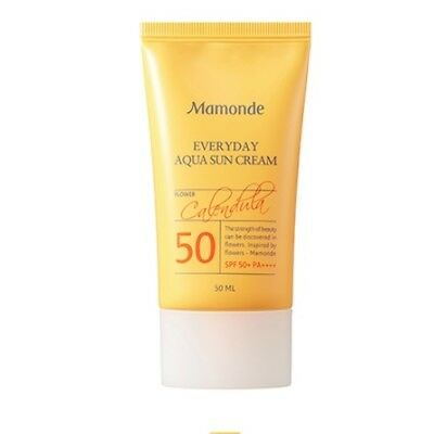 [MAMONDE] Everyday Aqua Sun Cream SPF50+ PA++++ / Korean Cosmetics