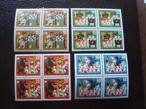 Germany-Rfa-Stamp-Yvert-Tellier-N-280-A-283-x4-N-MNH-Z19