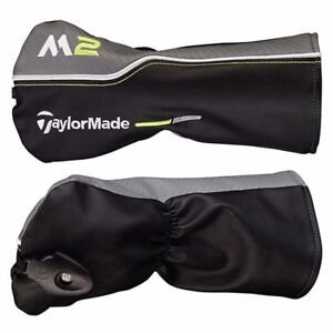 New-2017-TaylorMade-M2-Fairway-Wood-Headcover-Head-Cover-Black-Grey-Lime
