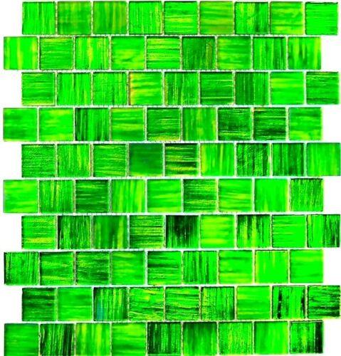 Glasmosaik Vert Carreaux Miroir De Cuisine Mur arrière anti-projections 68-cf43 10 Tapis