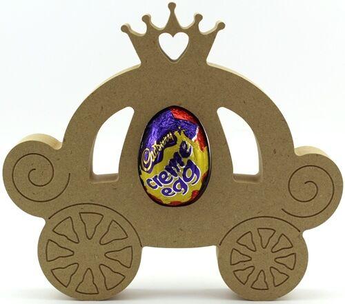 Princess carriage baignoir mdf pâques creme egg holder craft 18mm épais