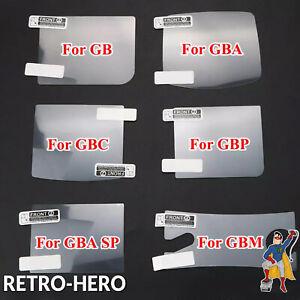 Display-Schutzfolie-Nintendo-Gameboy-Classic-Color-Advance-Pocket-Display-Schutz