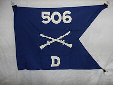 flag843 WW2 US Army Airborne Guide on 506th Parachute Infantry Regiment D Co W9A