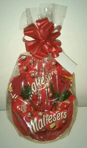 Maltesers Valentines Day Gift Hamper Basket For Her Birthday Sweets