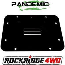 2012 Jeep Wrangler JK JKU Spare Tire Carrier Delete Filler Plate AKA Tramp Stamp