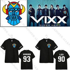 Kpop VIXX T-shirt Tee V I X X Tshirt Unisex N LEO RAVI
