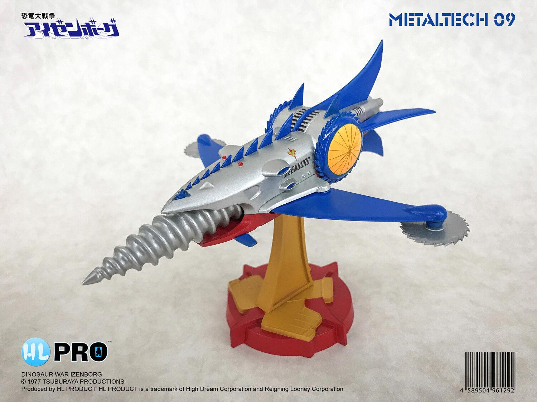 High Dream Hl Pro Metaltech MT09 Dinosaurio guerra Izenborg
