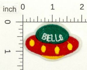 Bello-UFO-Patch-Iron-On-Patch-Embroidered-Applique-446