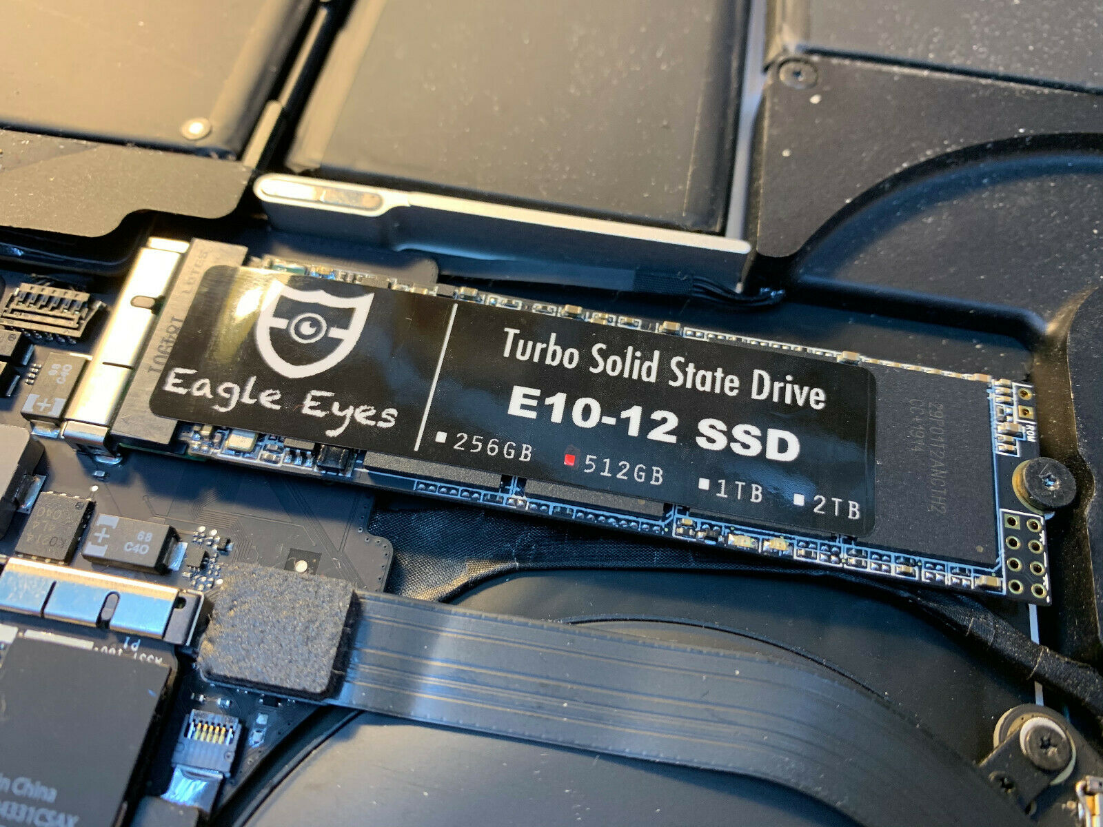 Eagle Eyes New 256GB SSD for Apple MacBook Pro Retina A1425 13 /& A1398 15 2012 Early 2013