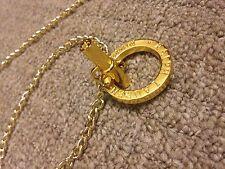 "Ralph Lauren gold metal chain belt lady size 40"" 102 cm NEW"