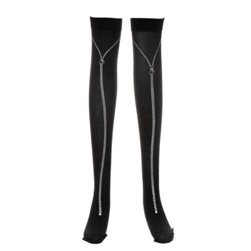 Halloween Skeleton Long Knee Socks High Costume Masquerade Carnival Cosplay Soft