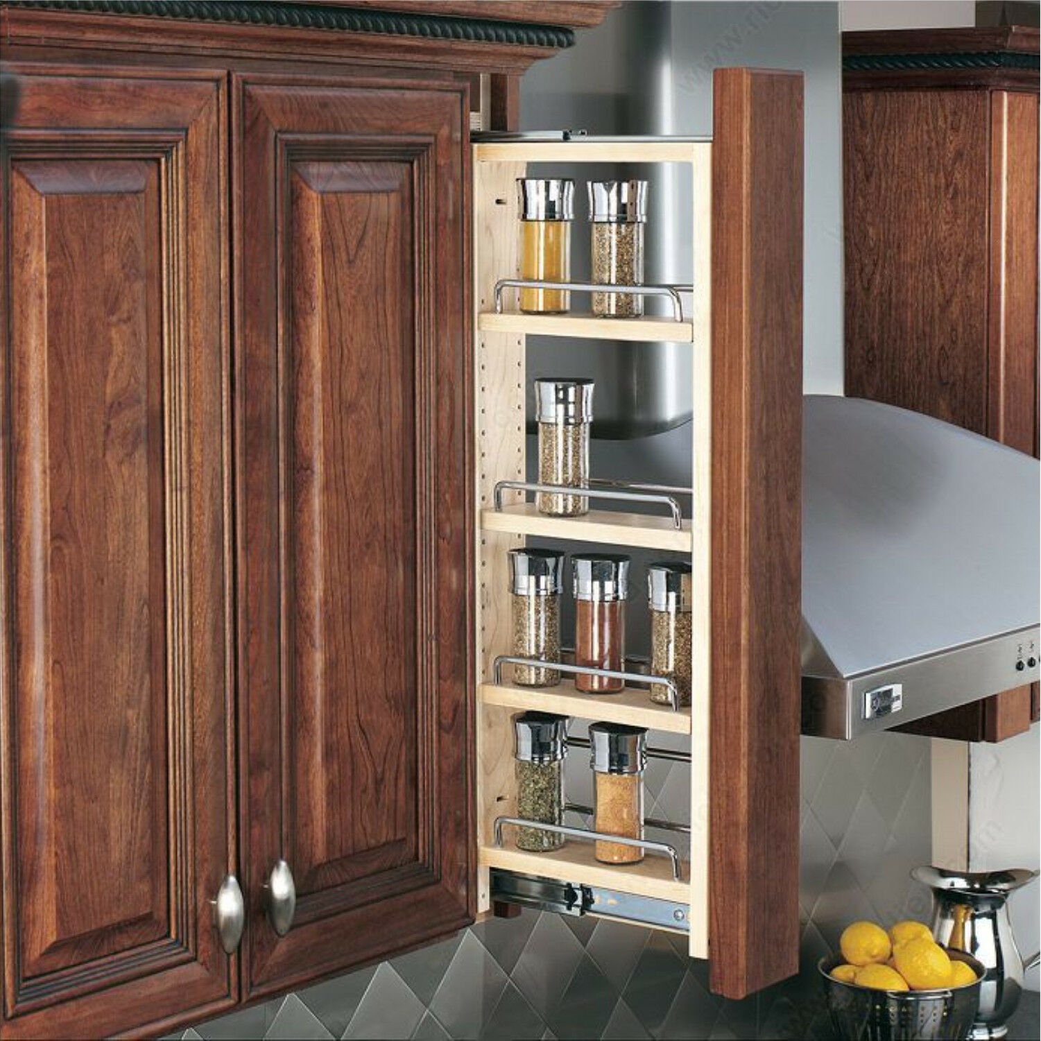 Wall Cabinet Filler Organizer Pullout- 3