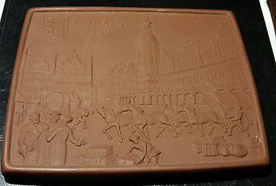 Meissen Porzellan Medaille Plakette Leipzig 1500 110 X 90 Mm Zu Verkaufen