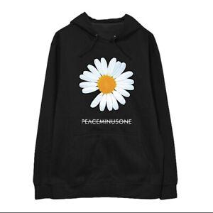 Détails sur Kpop BIGBANG G Dragon GD peaceminusone Lettre Daisy Sweatershirt Cap Sweat à capuche afficher le titre d'origine