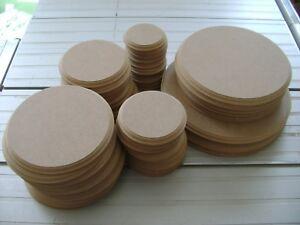 """Rechercher Des Vols En Bois Mdf Cercles Craft Plaques Blanks Stands Signes 4"""" 5"""" 6"""" 8"""" 10"""" 12"""" Gothique-afficher Le Titre D'origine"""