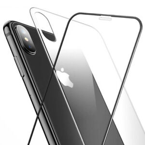 best website de1f4 46674 For Apple iPhone XS Max Front and Back 9H Tempered Glass Screen ...