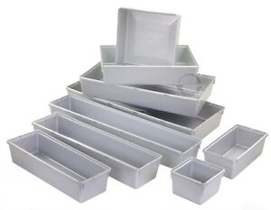 ordnungssystem silber aufbewahrungsbox sortierbox schraubenbox ordnung box ebay. Black Bedroom Furniture Sets. Home Design Ideas