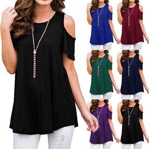 Women-Short-Sleeve-Loose-T-Shirts-Fashion-Ladies-Summer-Casual-Blouse-Tops-Shirt