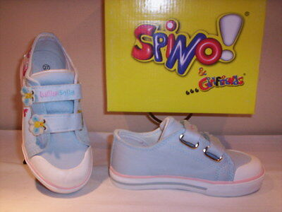Scarpe Scarpine Sportive Sneakers Spino Neonata Bimba Shoes Primi Passi Tela 20 Brividi E Dolori
