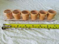 Mini Terra Cotta Pots Natural Decorations Sb3