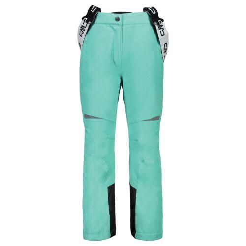 CMP Pantalon de ski Snowboardhose Girl salopette turquoise coupe-vent Imperméable