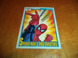Spider Man S Webshooters 131 1991 Marvel Universe Series 2 Impel