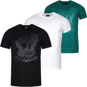 DIESEL T-Diego-Match Herren T-Shirt Tee Shirt Kurzarm