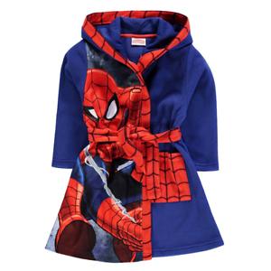 e120bc6a6b767 MARVEL robe de chambre peignoir SPIDERMAN taille 2-3 ans bleu rouge ...