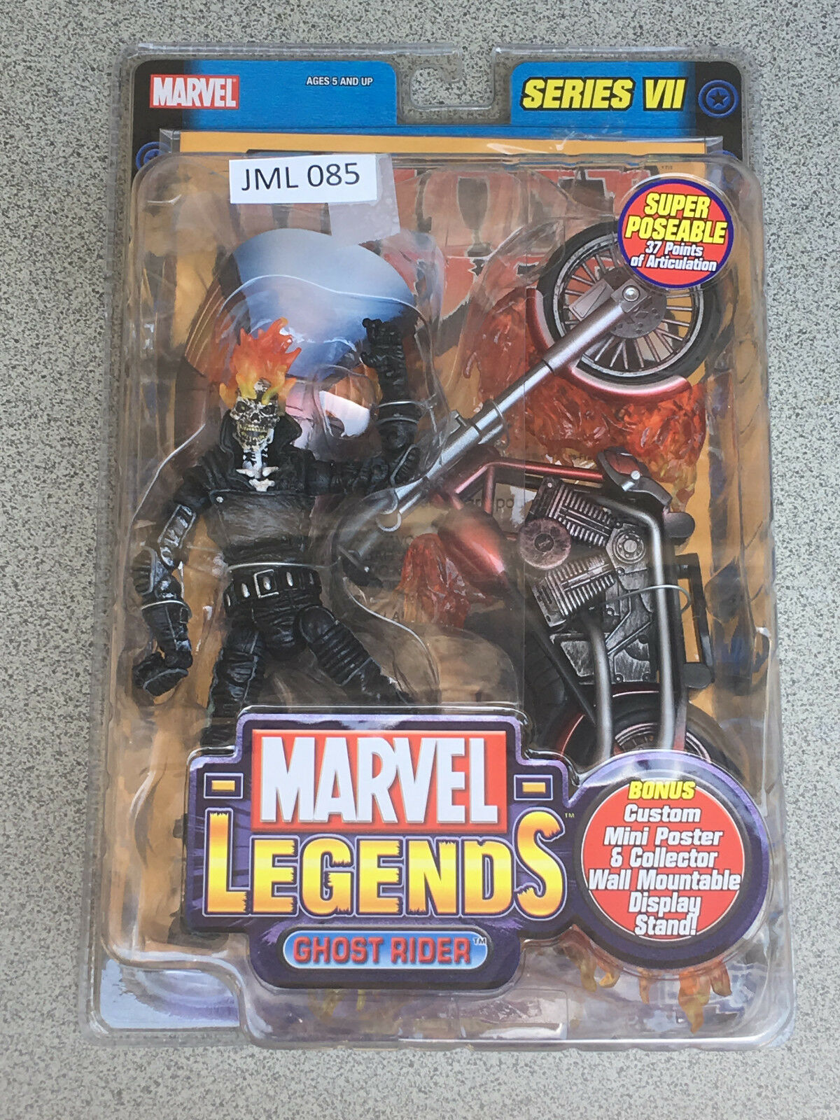 MARVEL LEGENDS 6  Series 7 Ghost Rider (JML 85)