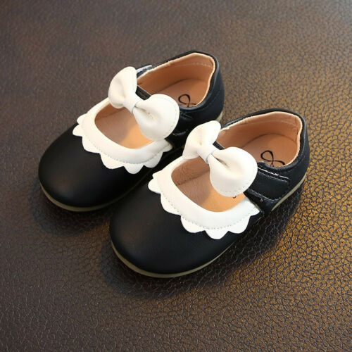 Toddler Infant Kid Baby Girls Shoes Princess Shoes Solid Casual Single Shoes