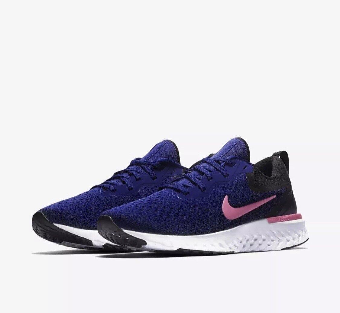 cheaper c30d9 35ad5 Nike Women s Odyssey React Navy White Pink AO9820-403 Size 6.5
