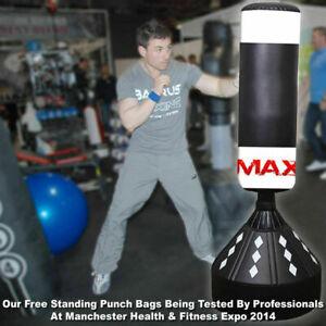 Free Standing Boxing Punch Bag Kid Adult Kick Art Training Inside Room Sports